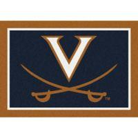 University of Virginia 5-Foot 4-Inch x 7-Foot 8-Inch Spirit Rug