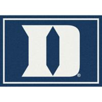 Duke University 3-Foot 10-Inch x 5-Foot 4-Inch Spirit Rug