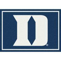 Duke University 5-Foot 4-Inch x 7-Foot 8-Inch Spirit Rug