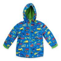Stephen Joseph® Size 7/8 Transportation Print Raincoat