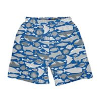 i play.® Size 18M Undersea Swim Trunks with Built-in Reusable Swim Diaper in Royal Blue