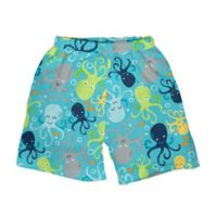 i play.® Size 3T Octopus Swim Trunks with Built-in Reusable Swim Diaper in Aqua