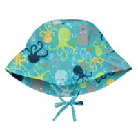 i play.® Newborn Octopus Breathable Bucket Sun Protection Hat in Aqua