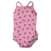 i play.® Size 3T Watermelon Swimsuit with Built-In Swim Diaper in Pink