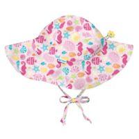 i play.® Size 0-6M Sealife Brim Sun Hat in Pink