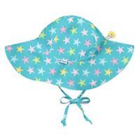 i play.® Size 0-6M Starfish Brim Sun Hat in Aqua