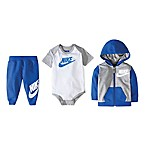 Nike® Futura Size 0-6M 3-Piece Gift Box Set