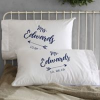 Sparkling Love Wedding Pillowcases (Set of 2)
