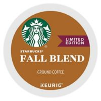 Keurig® K-Cup® Pack 16-Count Starbucks® Fall Blend 2016 Medium Roast Coffee