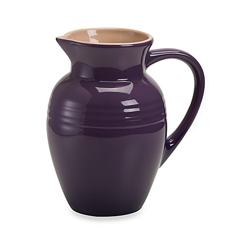 Le Creuset® 2 1/4-Quart Stoneware Pitcher in Cassis
