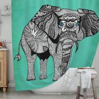 KESS InHouse® Elephant of Namibia Shower Curtain