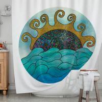 KESS InHouse® Oceania Shower Curtain