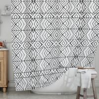 KESS InHouse® Tribal Expression Shower Curtain