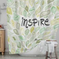 KESS InHouse® Inspire Nature Shower Curtain