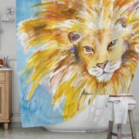 KESS InHouse® Wild One Shower Curtain