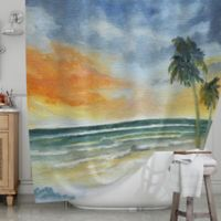 KESS InHouse® End of Day Shower Curtain