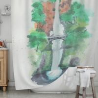 KESS InHouse® Multnomah Falls Shower Curtain