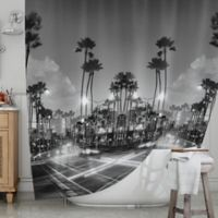 KESS InHouse® X Marks the Spot Shower Curtain