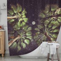 KESS InHouse® Elevated Paradise Shower Curtain