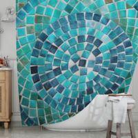 KESS InHouseR Circular Shower Curtain