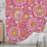 KESS InHouse® Paisley Pop Shower Curtain