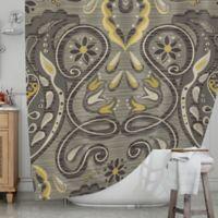 KESS InHouse® Vintage Damask Shower Curtain