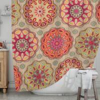 KESS InHouse® Festival Folklore Shower Curtain