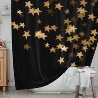 KESS InHouse® Twinkle Shower Curtain