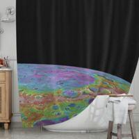 KESS InHouse® Mercury's Closeup Shower Curtain
