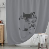 KESS InHouse® Kill a Mockingbird Shower Curtain