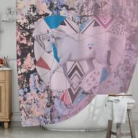 KESS InHouse® Unicorn Shower Curtain