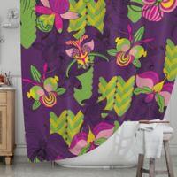 KESS InHouse® Orchids Festival Shower Curtain