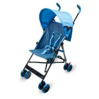 Wonder Buggy Skyler Jumbo Stroller in Teal Blue