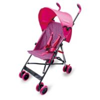 Wonder Buggy Skyler Jumbo Stroller in Pink