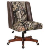 Linon Home Draper Office Chair in Mossy Oak