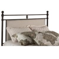 Hillsdale Furniture Ashley Queen Headboard with Metal Frame in Rustic Brown