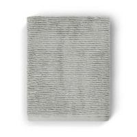 Casual Avenue Fibrosoft Slim Ribbed Bath Towel in Fog