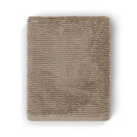 Casual Avenue Fibrosoft Slim Ribbed Bath Towel in Cobblestone