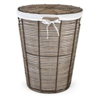 Bee & Willow™ Home Poly Rattan Laundry Hamper with Liner