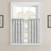 Horizons 45-Inch Window Curtain Panels in Silver (Set of 2)