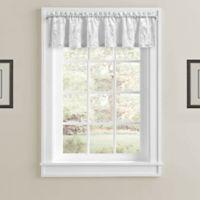 J. Queen New York™ Horizons Window Valance in White