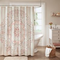 Madison Park Elise Shower Curtain in Blush