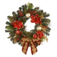 National Tree Company 24-Inch Mixed-Tip Pine Holiday Wreath