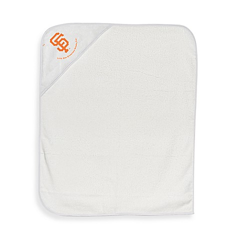 Baby Hooded Towel in San Francisco Giants