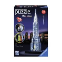 Ravensburger 3216-Piece 3D Chrysler Building Puzzle, Night Edition