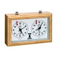 John N. Hansen Co. Classic Game Collection Chess Clock Tournament Style