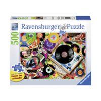 Ravensburger 500-Piece Viva le Vinyl Large Piece Format