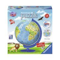 Ravensburger Children's 3D World 180-Piece Globe Puzzle