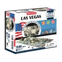 4D Cityscape Time Puzzle Las Vegas, USA Puzzle
