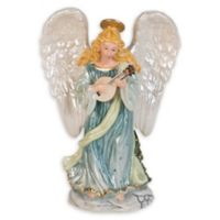 Fitz and Floyd® First Ladies Angel with Lute Taper Candle Holder